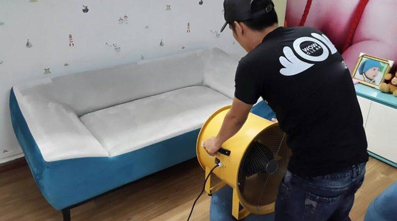 Dịch vụ giặt ghế sofa giá rẻ tại quận 6 TP HCM