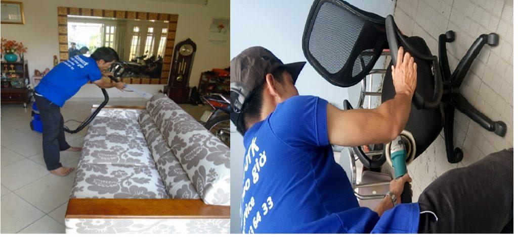 Dịch vụ giặt ghế Sofa giá rẻ tại quận Tân Bình TPHCM