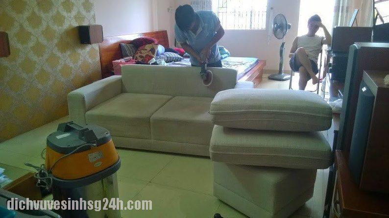 Dịch Vụ Giặt Ghế Sofa tại quận 3 TP HCM