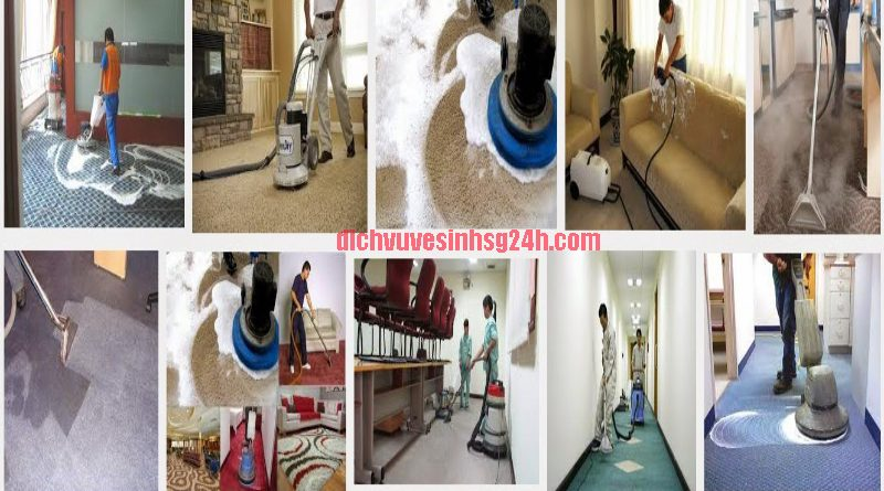 Dịch vụ vệ sinh công nhiệp Sài Gòn