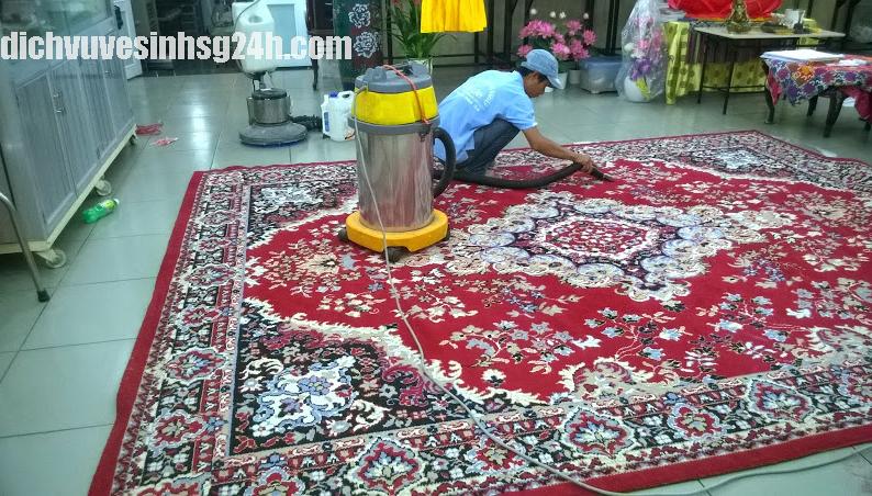 Dịch vụ giặt thảm tại TP HCM ( Sài Gòn)