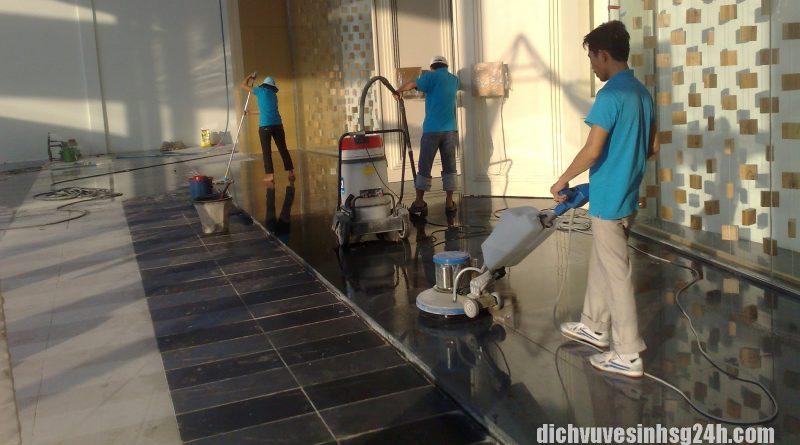 Bảng báo giá dịch vụ vệ sinh công nghiệp