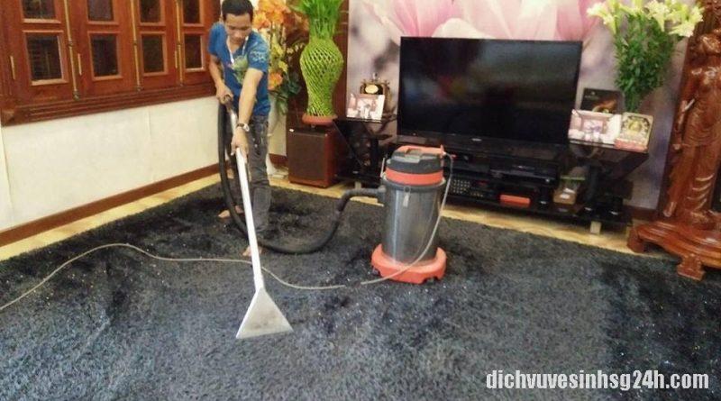 Dịch vụ giặt thảm trải sàn giá rẻ