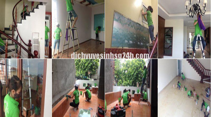 Dịch Vụ Vệ Sinh Nhà ở tại TPHCM (Sài Gòn) giá rẻ