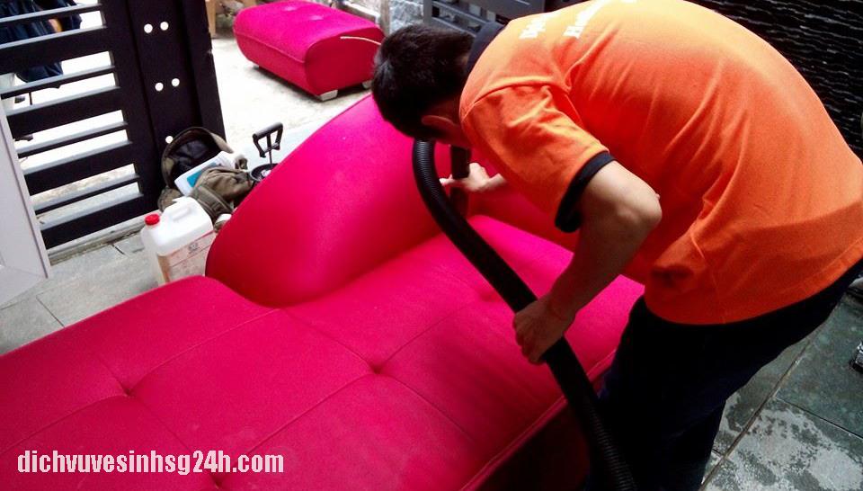 Giặt ghế sofa tại quận Ba Đình Hà Nội