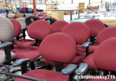 Dịch Vụ Giặt Ghế Văn Phòng tại TPHCM