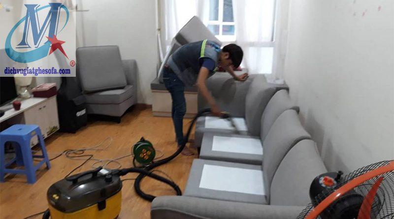 Giặt ghế sofa tại nhà Thanh Hóa