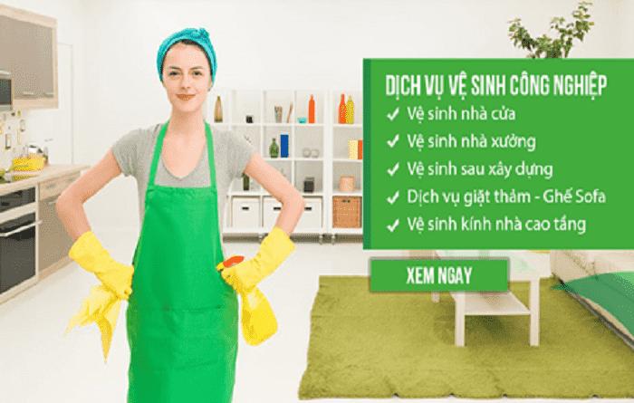 Dịch vụ vệ sinh công nghiệp là gì ?