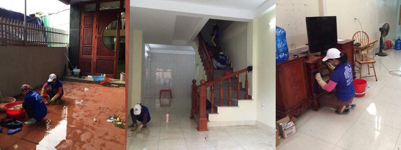 Dịch vụ vệ sinh nhà cửa huyện Đông Anh Hà Nội