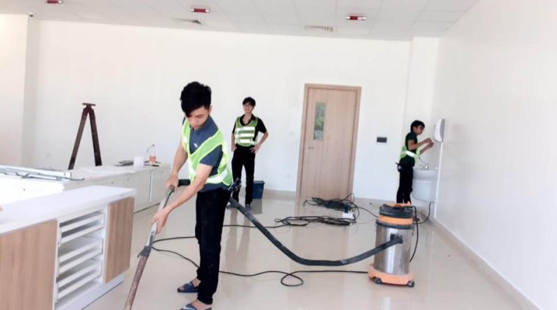 Dịch vụ vệ sinh nhà cửa uy tín tại Hà Nội